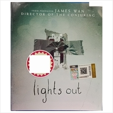 English Movie Lights Out Blu ray