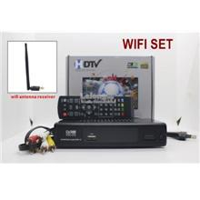 (Upgraded WIFI Version) Digital TV Receiver USB Media Player Decoder