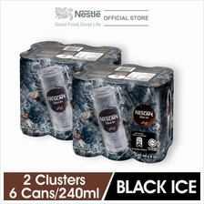 NESCAFE Black Ice RTD 240ml , 2 Clusters)