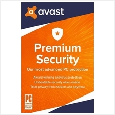 Avast Premium Internet Security 2021 - 2 Years 1 PC Windows 7 8 10