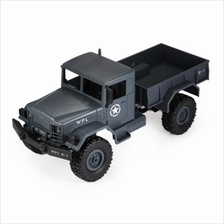 1:16 MINI OFF-ROAD RC MILITARY TRUCK RTR FOUR-WHEEL DRIVE (Blue Grey)