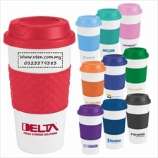 Custom made Friendly Mug Plastic Coffee Cup Travel Cup Pre Order