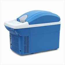 8L Portable Mini Warming and Cooling Vehicle Refrigerator (BLUE)