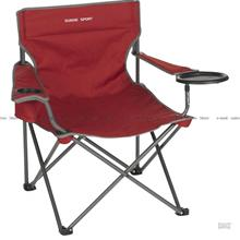 WENZEL Banquet Chair XL red built-in tray table foldable portable