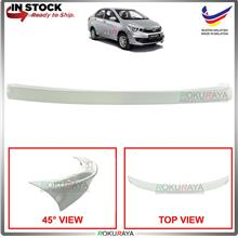 Proton Bezza 2016 Ducktail ABS OEM Rear Bonnet Lip Spoiler (White)