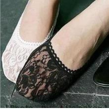 [EH1382-11175] Lace Boat Socks