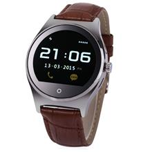 RWATCH R11 MTK2501 SMART WATCH (BROWN AND SILVER)