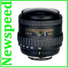 New Canon Mount Tokina AT-X 107 AF 10-17mm F3.5-4.5 DX NH Fisheye Lens