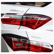 Toyota New Corolla Altis Rear Lamp Chrome Eyelid