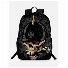 SKULL STYLISH BACKPACK (BLACK)