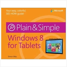 Windows 8 for Tablets Plain and Simple by Microsoft Press