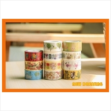 """2cm Cartoon Washi Tape (11 Rolls) V2"" - Zakka/Diary/Photobook DIY"