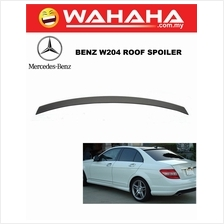 Mercedes Benz W204 Roof Spoiler OEM Look Polyurethane Material Painted