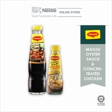 MAGGI Oyster Sauce 500g x 1 + Concentrated Chicken 250g x 1)