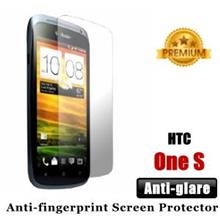 Premium Anti-glare HTC One S Screen Protector - Matte