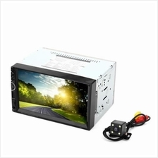 8001 7 INCH DOUBLE DIN 12V CAR MULTIMEDIA MP5 PLAYER SUPPORT GPS BLUETOOTH RAD