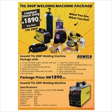 Auweld TIG Welding Machine Package Set TIG200S
