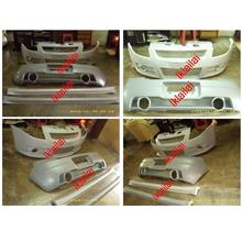 Suzuki Swift Sport Full Set Fiber Body Kit [Front/Rear Bumper/Side Ski