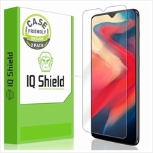 OnePlus 6T - IQShield LiquidSkin Case Friendly Screen Protector
