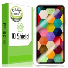 Apple iPhone XS - IQShield Liquid Skin Screen Protector (CF , 2 Pack)