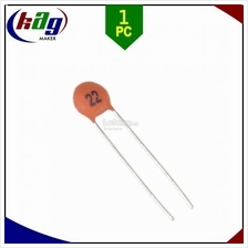 22pF 50V Ceramic Capacitor Pitch 2.54mm