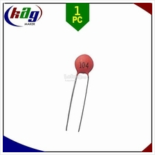 0.1uF 104 50V Ceramic Capacitor Pitch 2.54mm