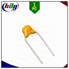 0.33uF Multilayer Ceramic Capacitor 334 50V Pitch 5.08mm
