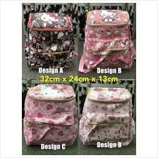 🔥READY STOCK🔥 HELLO KITTY Kids Cute GOOD QUALITY Backp..
