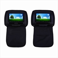PAIRED XD783 7 INCH UNIVERSAL CAR HEADREST DVD PLAYER 800 X 480 LCD SCREEN BAC