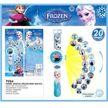 Disney Cartoon 3D Digital Projection Watch - FROZEN