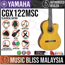 Yamaha CGX122MSC 6-string Nylon-string Classical Guitar