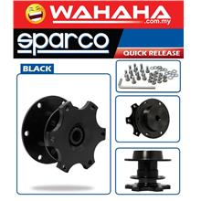 Sparco Steering Wheel Quick Release Kit Black Tuning High Quality