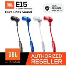 JBL E15 Pure Bass Wired In-Ear Headphones (NEW) Original