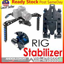 DSLR RIG Stabilizer Transformer Shoulder Mount Camera Video Movie Kit
