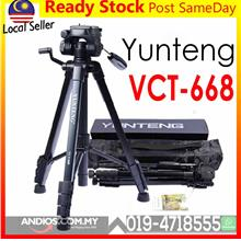 YUNTENG VCT-668 Tripod Damping Head Fluid Pan Camera