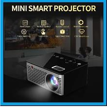 [ 1 Year Warranty ] OHHS T200 Pocket Touch keys LED Mini Projector