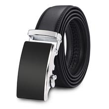 4GL G Series Design High Quality Men Leather Automatic Buckle Belts Ta