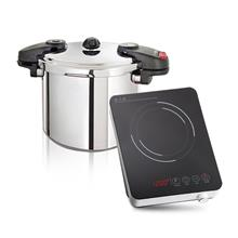 8L PRESSURE COOKER + KNOB INDUCTION COOKER