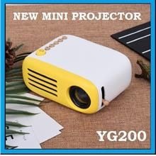 [ 1 Year Warranty ] OHHS YG200 Mini LED Pocket Projector