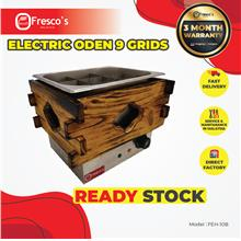 ELECTRIC ODEN 9 GRIDS FEH-10B Oden Machine