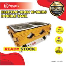 Electric Oden 18 Grids Double Tank FEH-20B Oden Machine