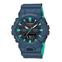 Casio G-SHOCK Men Matte Blue Bi-color Band Sport Watch GA-800CC-2ADR
