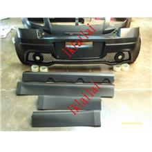 Suzuki Swift '08 Hikari Style Full Set Body Kit [Front/Rear Bumper/Sid