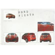 Ford Fiesta '09-'12 OEM Style Full Set Body Kit ABS Material Skirting