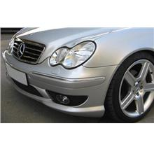 Mercedes W203 AMG Style Front+Rear Bumper+Side Skirt [Full Set Body]