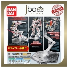 Bandai Action Base 5 Clear 1/144 1/100 HG RG MG RE 100 Stand Display