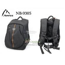 AERFEIS NB-9305 DSLR PHOTOGRAPHY Backpack-BLACK