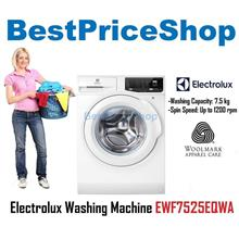 Electrolux Washing Machine EWF7525EQWA 7.5kg 1200 Rpm Smart Washer