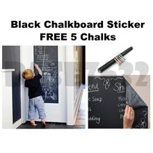 60*200cm 60cm Chalkboard Chalk Black Board Blackboard Wall Sticker
