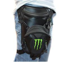 Kawasaki monster Waist Packs leisure legs motorcycle bag